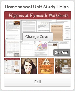 Homeschool Unit Study Helps Pinterest Board