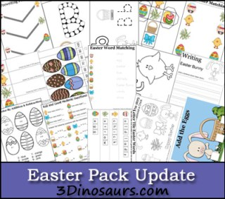 Easter Pack Update from 3 Dinosaurs