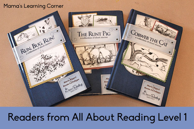 Readers from All About Reading Level 1