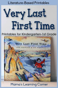 Very Last First Time Printables for Kindergarten-First Grade
