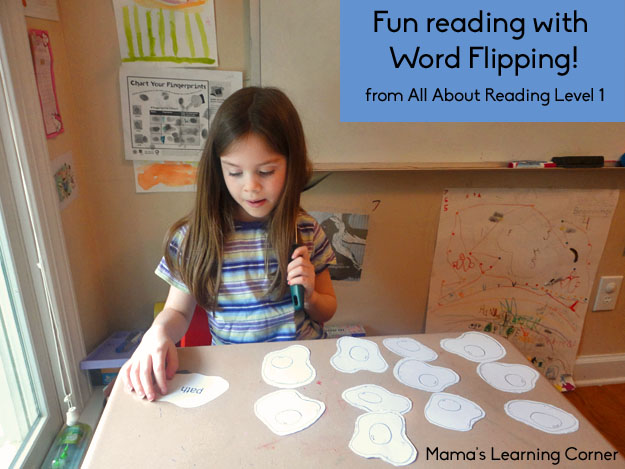 Word Flipping with All About Reading Level 1