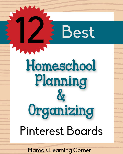 Best Homeschool Planning and Organizing Pinterest Boards