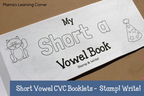 Short Vowel CVC Short A Book