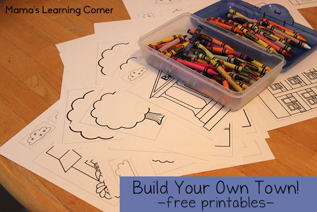 Free Printables to Build Your Own Town