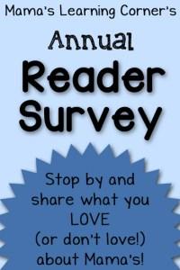 I'd Love Your Feedback! – Reader Survey for 2014