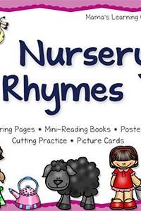Nursery Rhymes: Printable Sampler Packet!