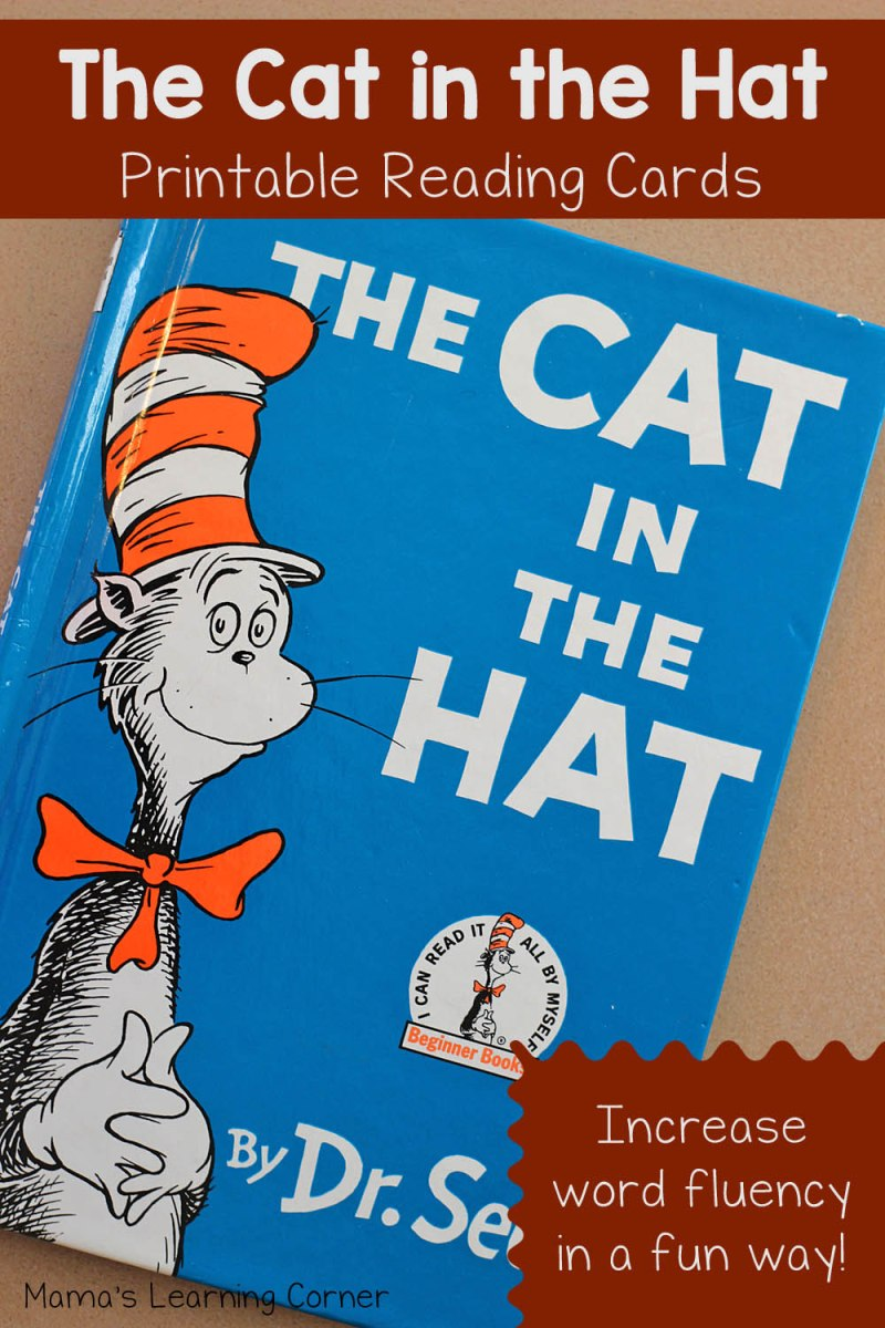 The Cat in the Hat Reading Cards