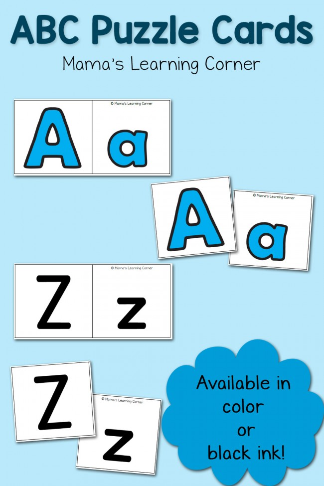 ABC Puzzle Cards