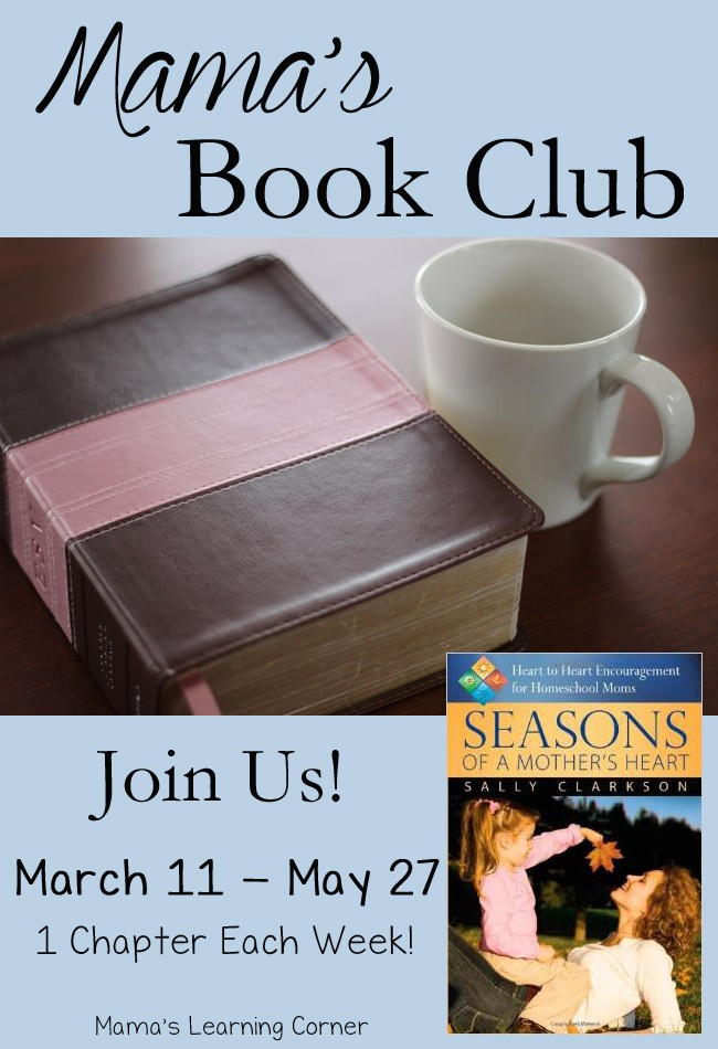 Seasons of a Mother's Heart Book Club at Mama's Learning Corner
