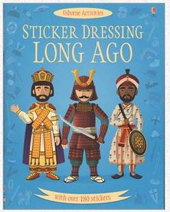 Sticker Dressing Long Ago