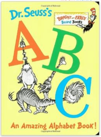 Dr. Seuss' ABC An Amazing Alphabet Book