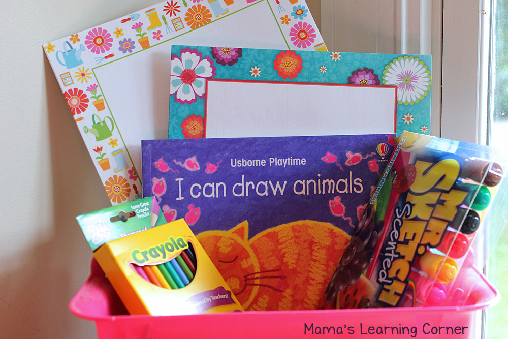 Activity Baskets fpr Kids: Drawing Set