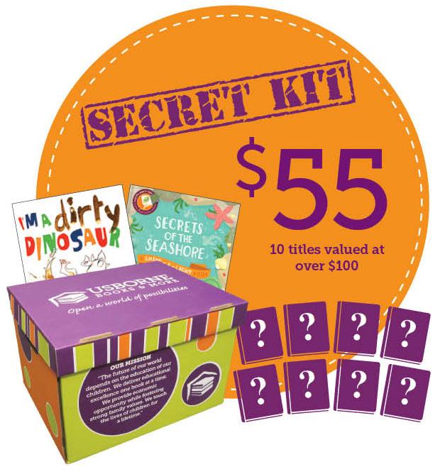 Usborne 55 Secret Kit