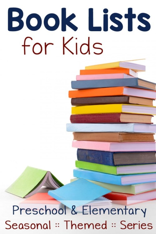 Book Lists for Kids: seasonal, themes, and series children love!