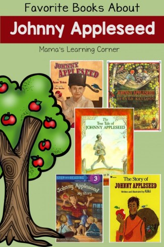 Favorite Books About Johnny Appleseed