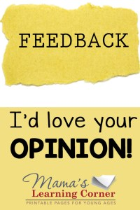 I'd Love Your Opinion! Reader Survey 2015