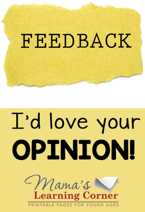 I'd love to know your thoughts and opinions! Please fill out my reader survey for 2015!