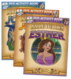 Bible Heroes Activity Books: Esther, Jonah, and Joshua