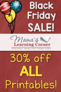 30% off at Mama's! Black Friday and Cyber Monday 2015