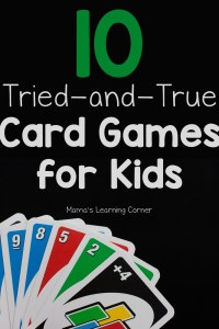10 Fun Card Games for Kids