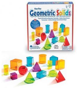 View Through Geometric Solids