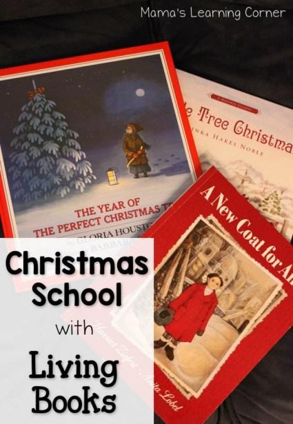 Christmas School with Living Books - favorite Christmas books