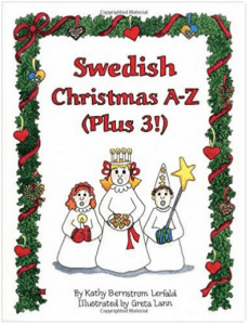Swedish Christmas A to Z: An Alphabet Activity and Coloring Book