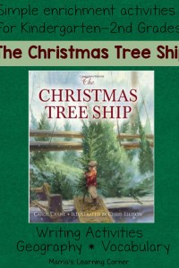 The Christmas Tree Ship: Geography and Writing Activities