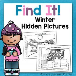 Winter Hidden Pictures