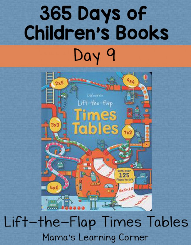 Children's Books - Lift the Flap Times Tables! Day 9 of 365 Days of Children's Books