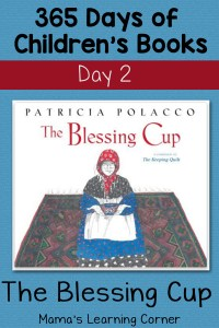 The Blessing Cup: Day 2 of Children's Books