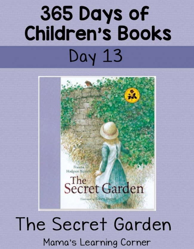 Children's Books - The Secret Garden! Day 13 of 365 Days of Children's Book Series