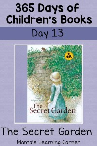 The Secret Garden – Day 13 in 365 Days of Children's Books Series