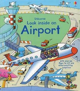 Look Inside an Airport- Children's Book
