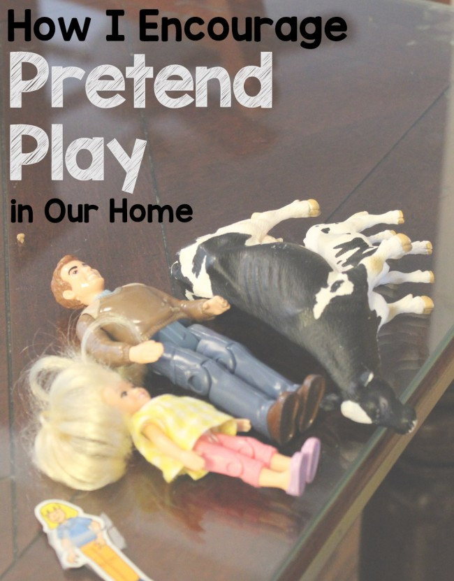 How I Encourage Pretend Play in Our Home