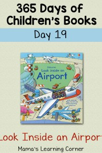 Look Inside an Airport – Day 19 of 365 Days of Children's Books