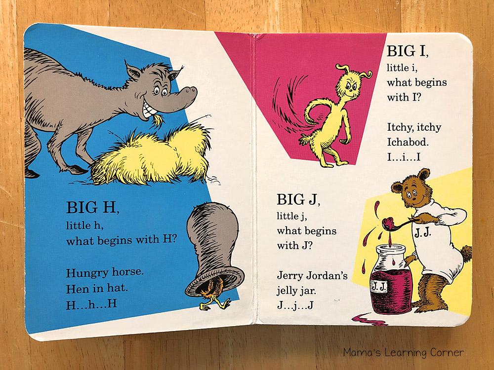 Dr Seuss ABC Alphabet Book