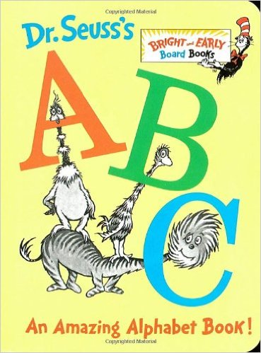 Dr. Seuss' ABC's: An Amazing Alphabet Book!