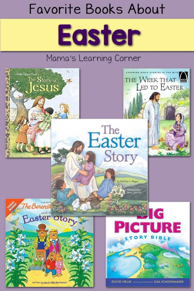 Favorite Books About Easter