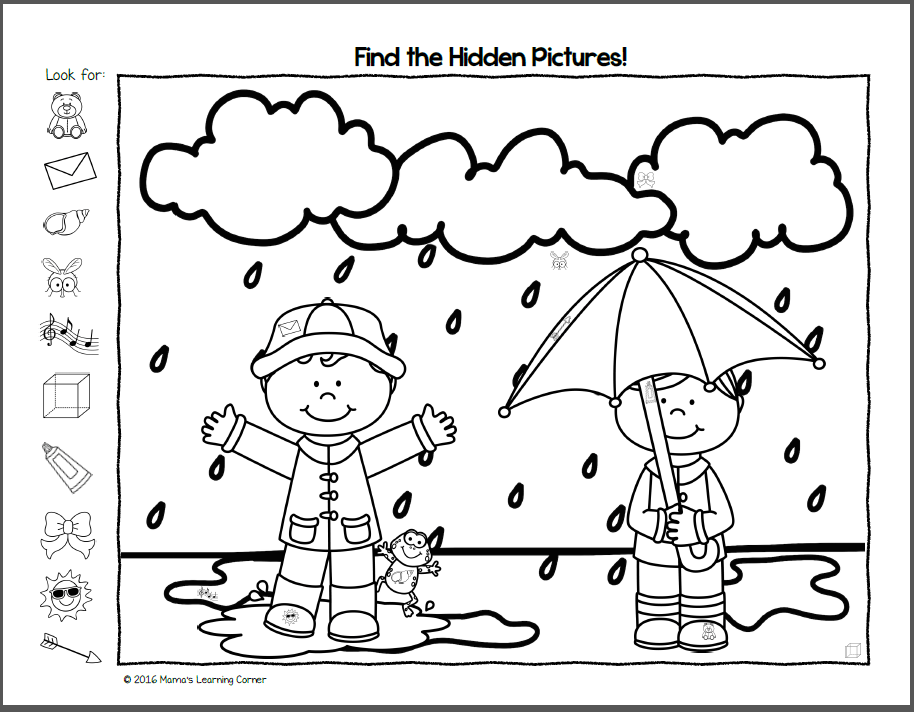 It's just a photo of Find the Hidden Objects Printable for elcivic