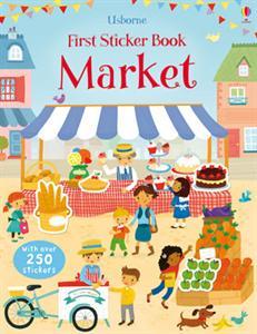 Usborne First Sticker Book Market