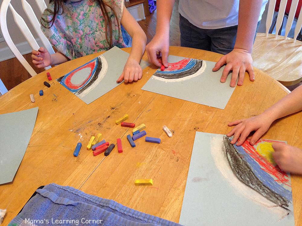 Summer Games Chalk Pastel