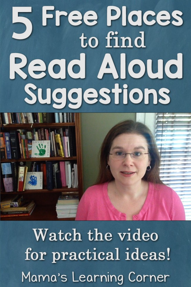 5 Free Places to Find Read Aloud Suggestions