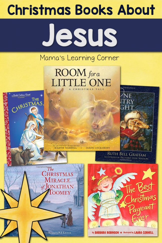 Favorite Christmas Books About Jesus