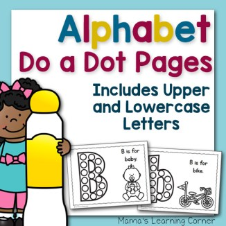 Alphabet Do a Dots