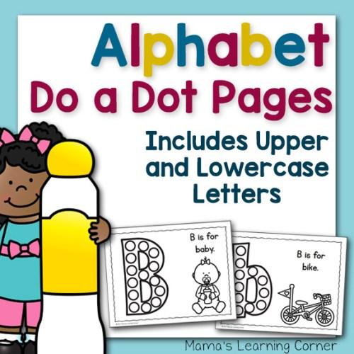 Alphabet Do a Dots