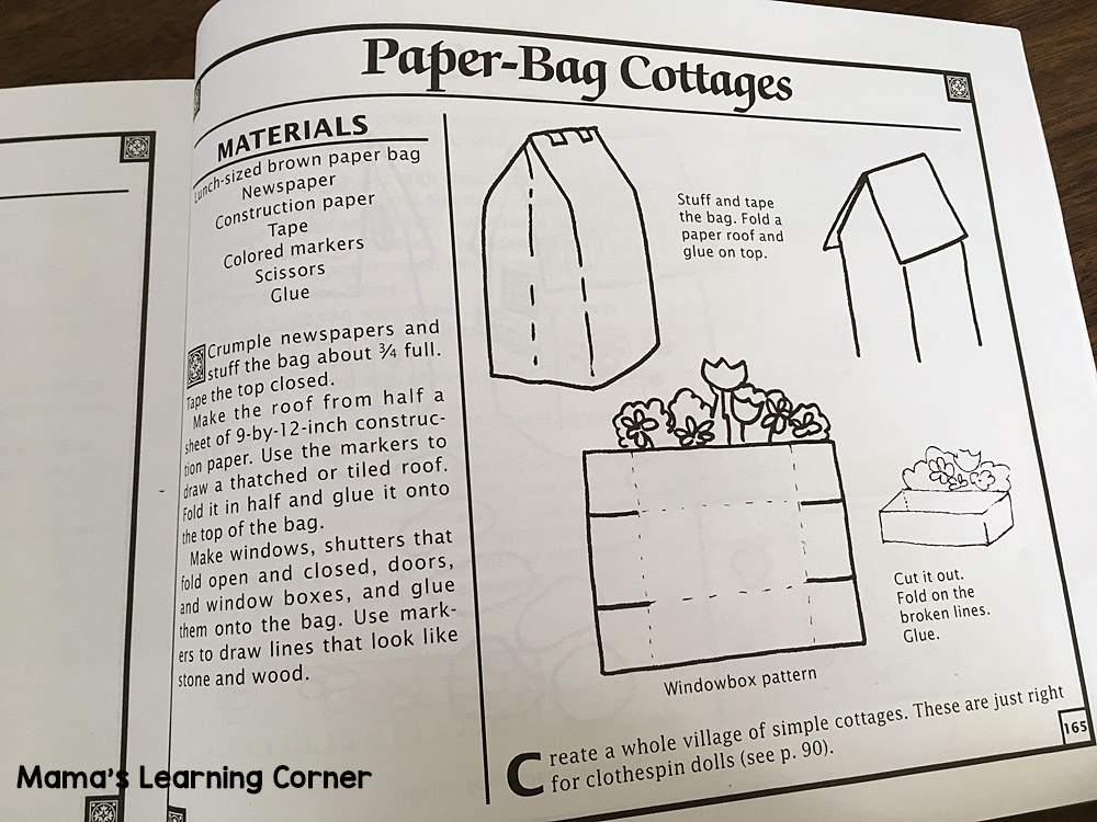 Paper Bag Cottage House Directions