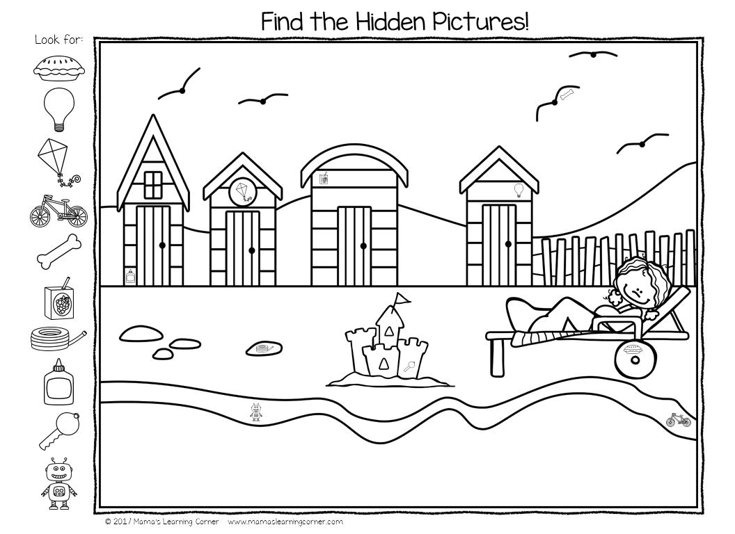 Summer Hidden Pictures