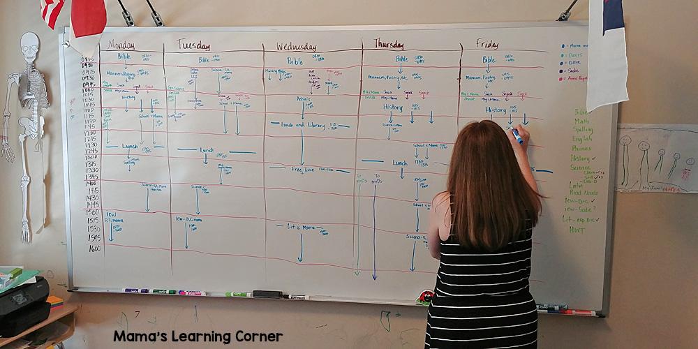 Whiteboard Planning 2017