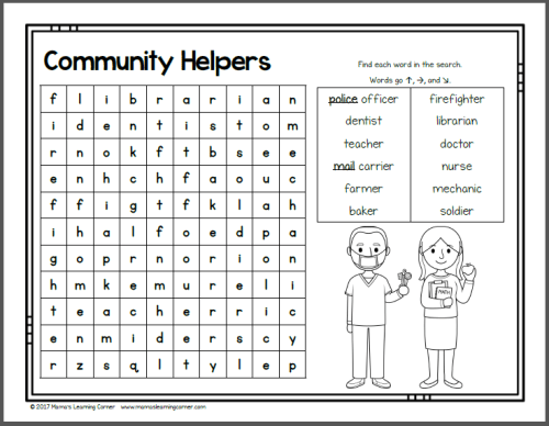 August Word Searches